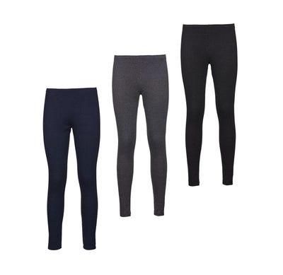 Damen-Stoffhose mit elastischem Bund