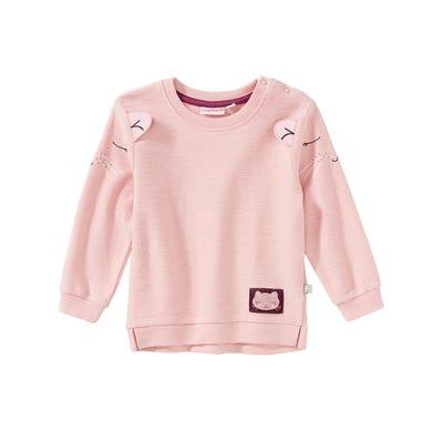 Baby-Mädchen-Sweatshirt mit Katzen-Design