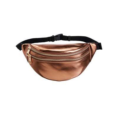 Damen-Gürteltasche in Leder-Optik