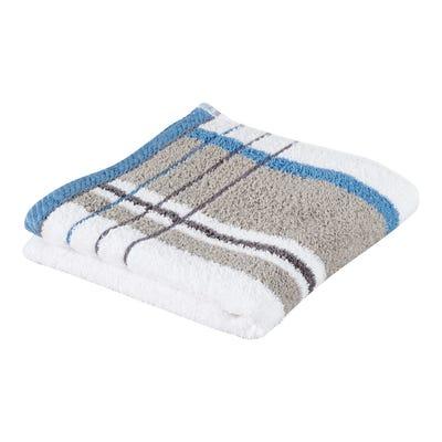 Handtuch mit modischen Streifen, 50x100cm