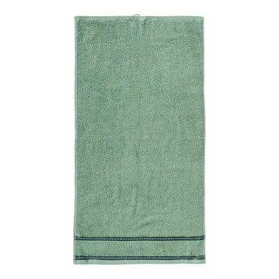 Handtuch mit trendiger Bordüre, 50x100cm