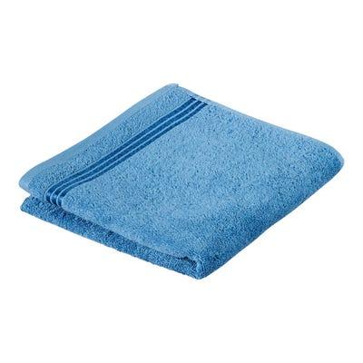 Handtuch mit glänzender Streifenbordüre, 50x100cm