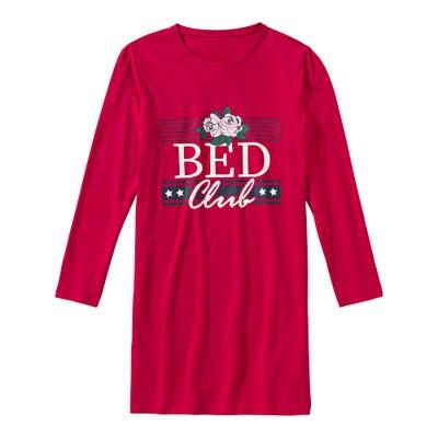 Mädchen-Nachthemd mit coolem Frontaufdruck