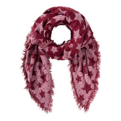 Damen-Schal mit Sternenmuster