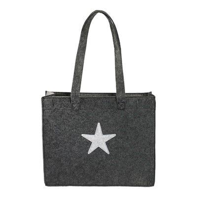 Damen-Freizeittasche mit Sternenapplikation