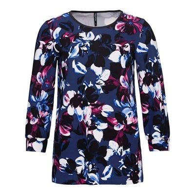 Damen-Shirt mit hübschem Blumendesign