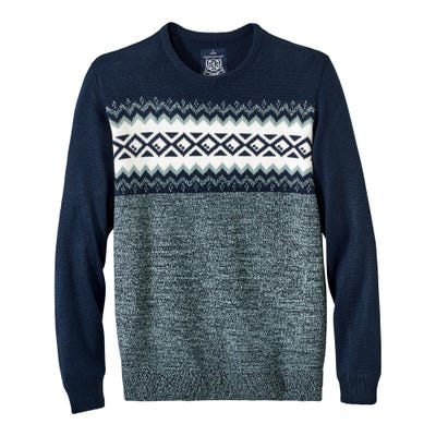 Herren-Pullover mit norwegischem Muster