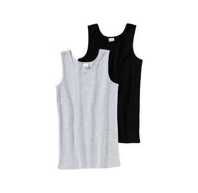 Jungen-Unterhemd aus reiner Baumwolle