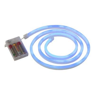 LED-Neon-Leuchtröhre mit Montage-Clips, ca. 1,5m