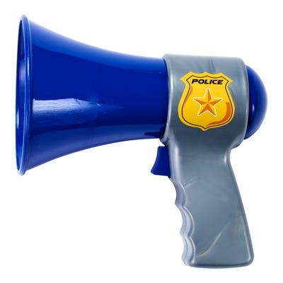 Feuerwehr- oder Polizei-Megaphon, ca. 14x15x9cm