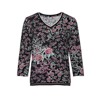 Damen-Shirt mit schicken Bündchen