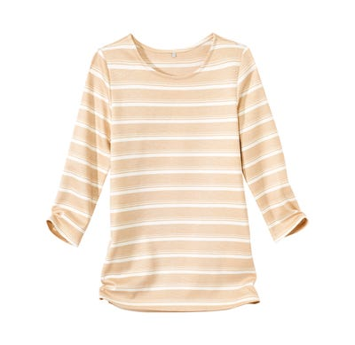 Damen-Shirt mit Querstreifen