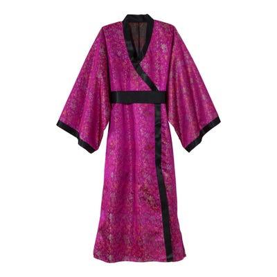 Kimono-Kostüm mit Gürtel für Erwachsene
