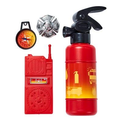Feuerwehr- oder Polizei-Set mit viel Zubehör