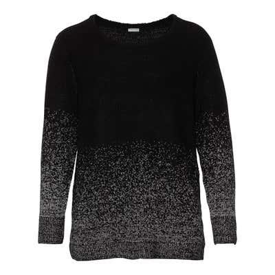 Damen-Pullover mit Glitzerfäden, große Größen