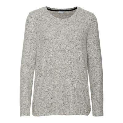 Damen-Sweatshirt mit Punkte-Muster