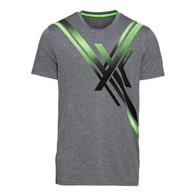 Herren-Fitness-T-Shirt mit trendigem Aufdruck