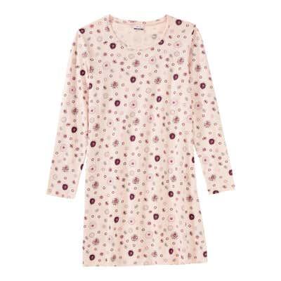 Damen-Nachthemd mit Trend-Muster