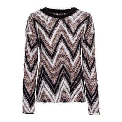 Damen-Pullover mit Zickzack-Design