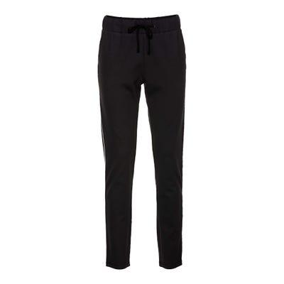 Damen-Joggpants mit Kontrast-Streifen, große Größen