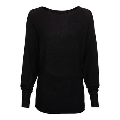 Damen-Pullover in Ripp-Optik
