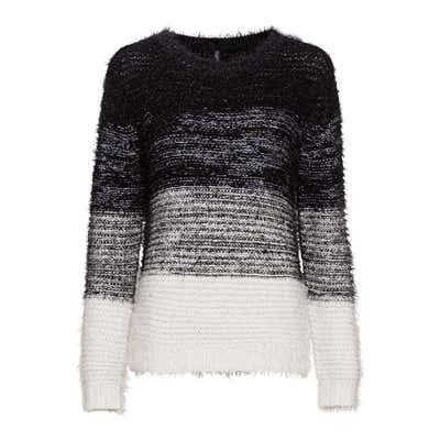 Damen-Pullover mit schicken Blockstreifen