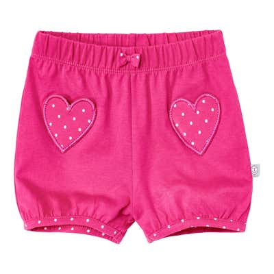 Baby-Mädchen-Shorts mit niedlicher Schleife