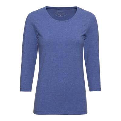 Damen-Shirt in Melange-Optik