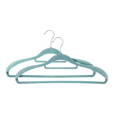Kleiderbügel mit extrabreiter Oberfläche, ca. 45x23cm, 2er Pack