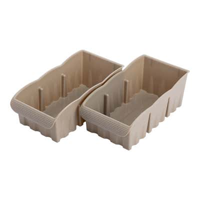 Organisierbox, 2er Pack, ca. 27x14x10cm