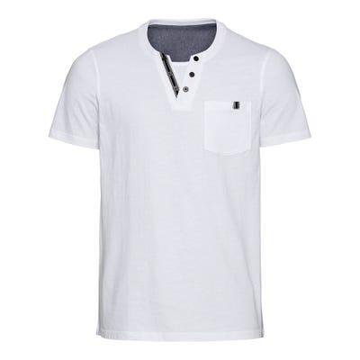 Herren-T-Shirt mit schickem Ausschnitt