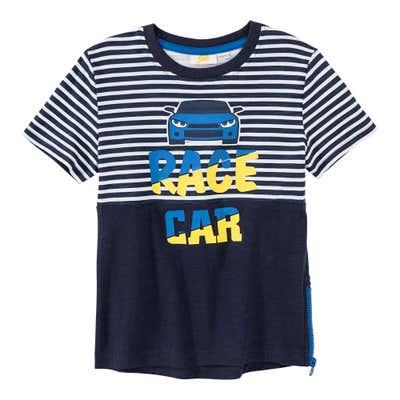 Jungen-T-Shirt mit schicken Reißverschluss