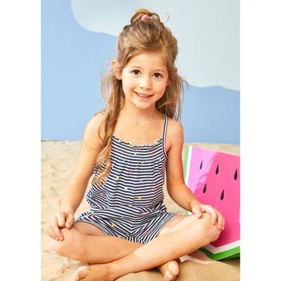 Kinder-Mädchen-Jumpsuit mit Streifenmuster