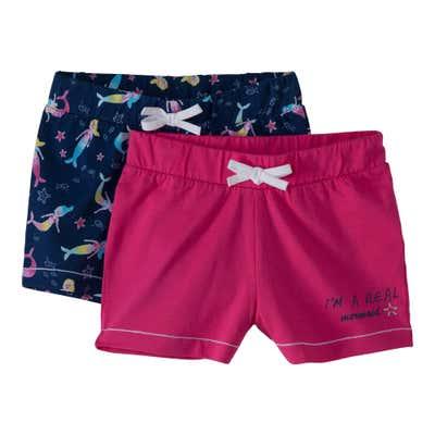 Kinder-Mädchen-Shorts im tollen 2er Pack