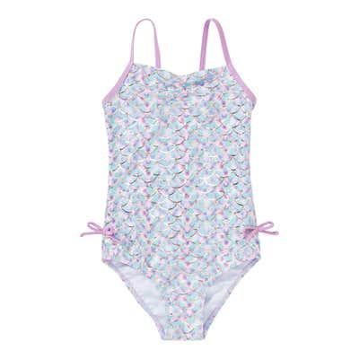 Mädchen-Badeanzug mit Zierschleifen
