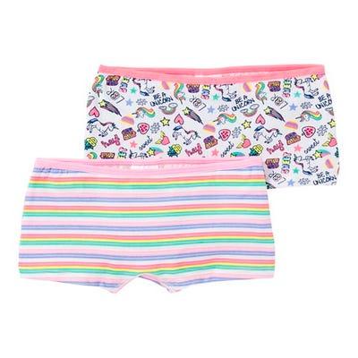 Mädchen-Panty mit coolem Muster, 2er Pack