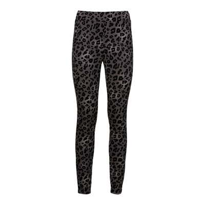Damen-Leggings mit Leo-Muster