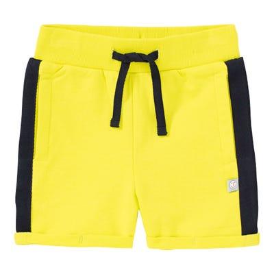 Baby-Jungen-Shorts mit Kontrast-Streifen