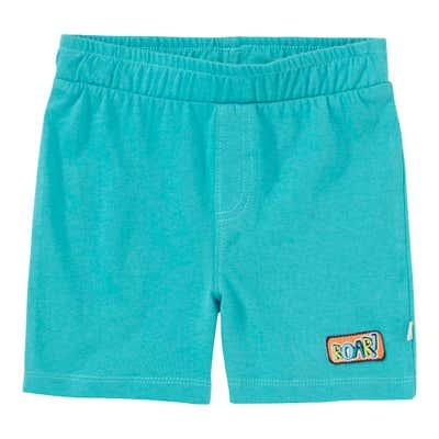 Baby-Jungen-Shorts mit schickem Aufnäher