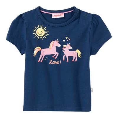 Baby-Mädchen-T-Shirt mit Einhorn-Motiv