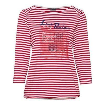 Damen-Shirt mit trendigem Ringelmuster