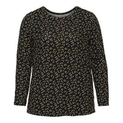 Damen-Shirt mit Tupfen-Muster, große Größen