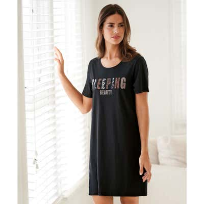 Damen-Nachthemd mit schönem Aufdruck