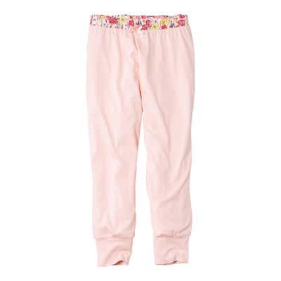 Damen-Schlafanzughose mit bedrucktem Bündchen