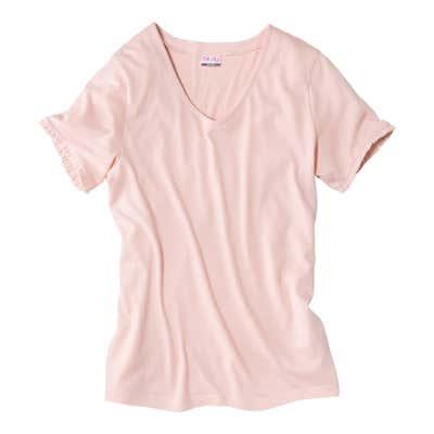 Damen-T-Shirt mit schönen Rüschen