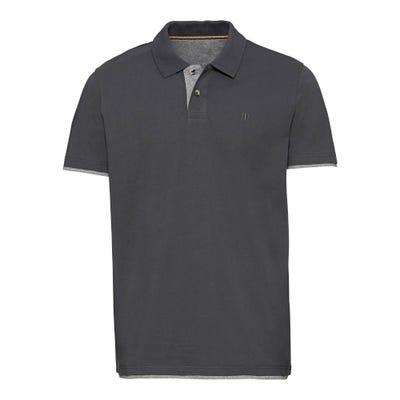 Herren-Poloshirt mit Kontrast-Einsätzen