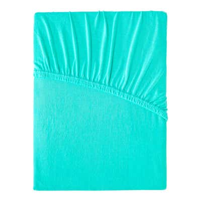Jersey-Spannbetttuch in mehreren Farben, ca. 90-100x200cm