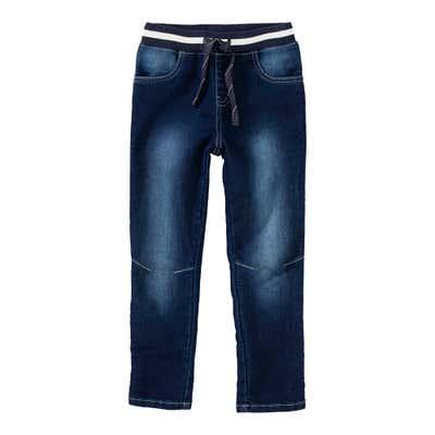 Jungen-Jeans mit Kordel am Bund