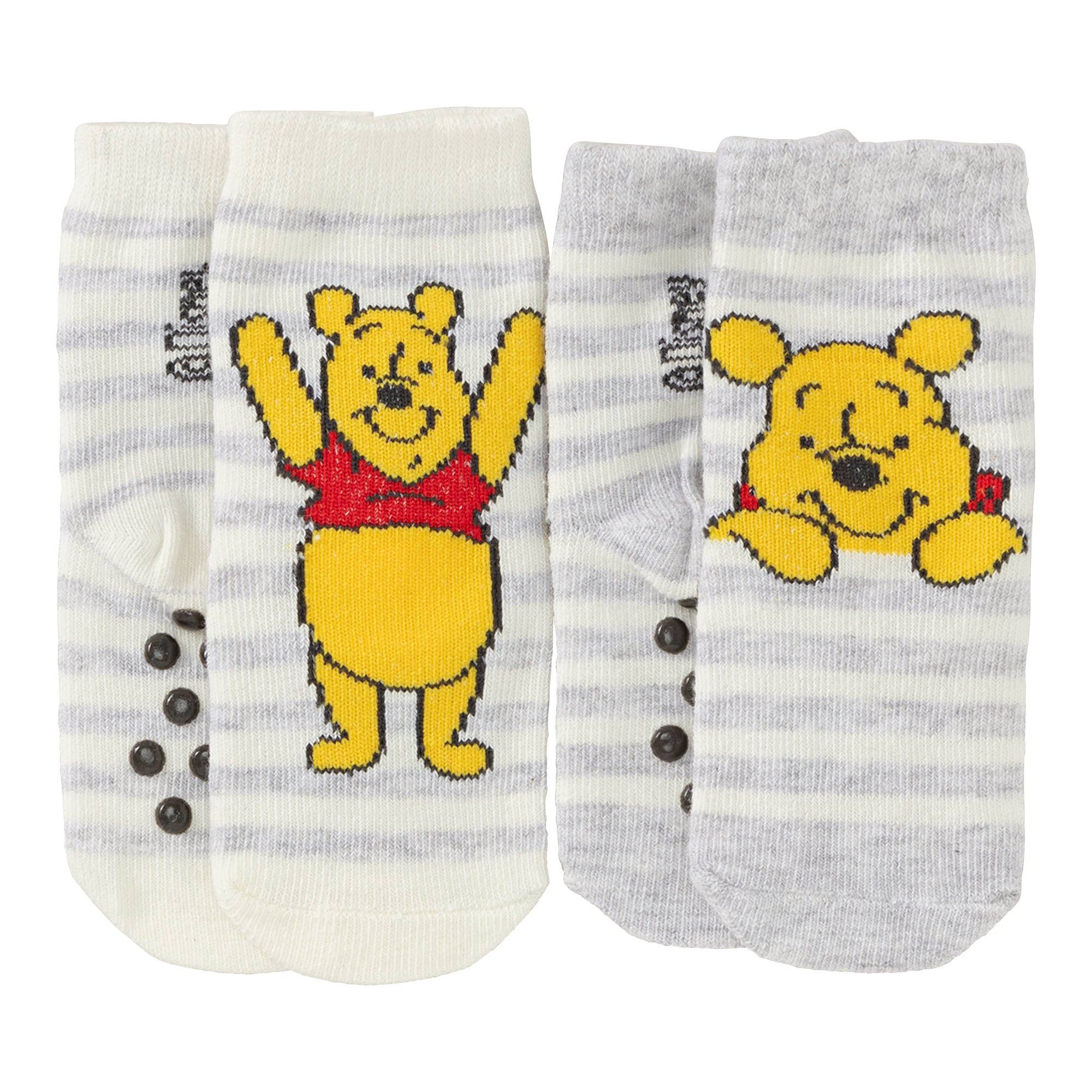 62-92 2er Pack Jungen Baby Socken blau oder grau Gr