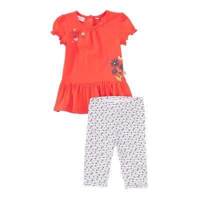 Baby-Mädchen-Set mit Marienkäfer-Muster, 2-teilig